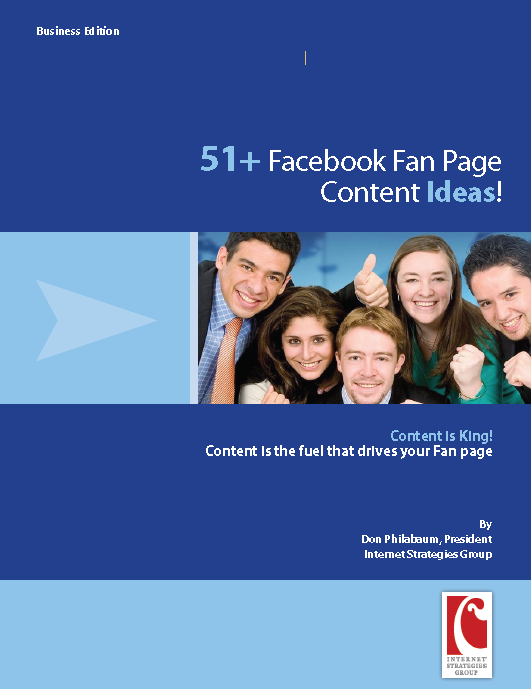 White paper – 51 + Fan Page Content Ideas for Business