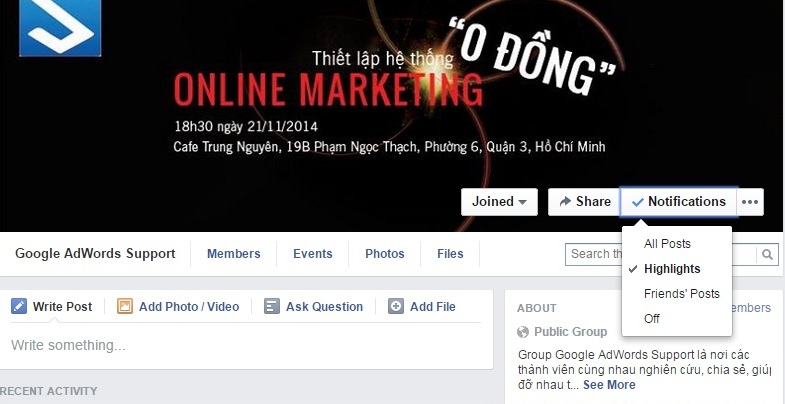 how to find facebook group id
