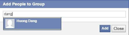 [Post 3] How to add a friend to a Facebook group 2