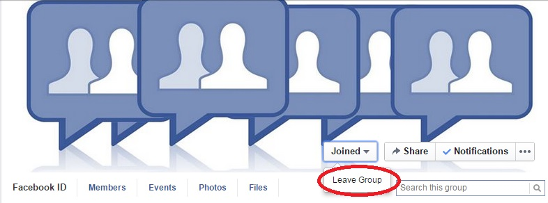 How to leave a Facebook group?