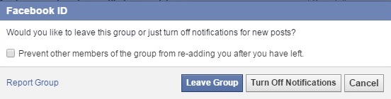 [Post 4] Leave a fb group 2