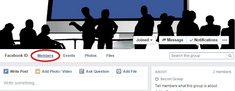 how to delete and archive an facebook group