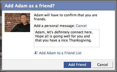 How to add friends to a Facebook group?